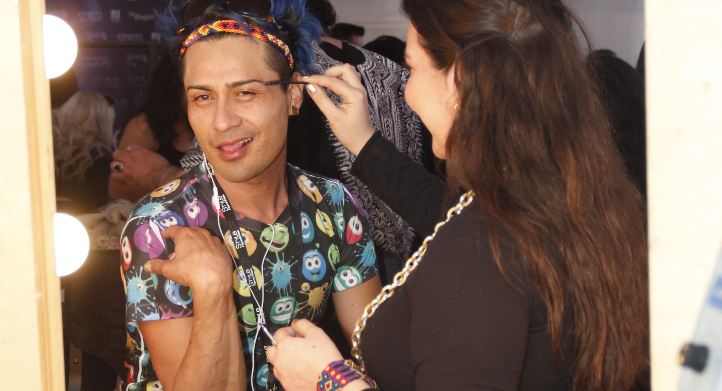 D Jesus Eyebrow time Style Fashion Week 4Chion Lifestyle