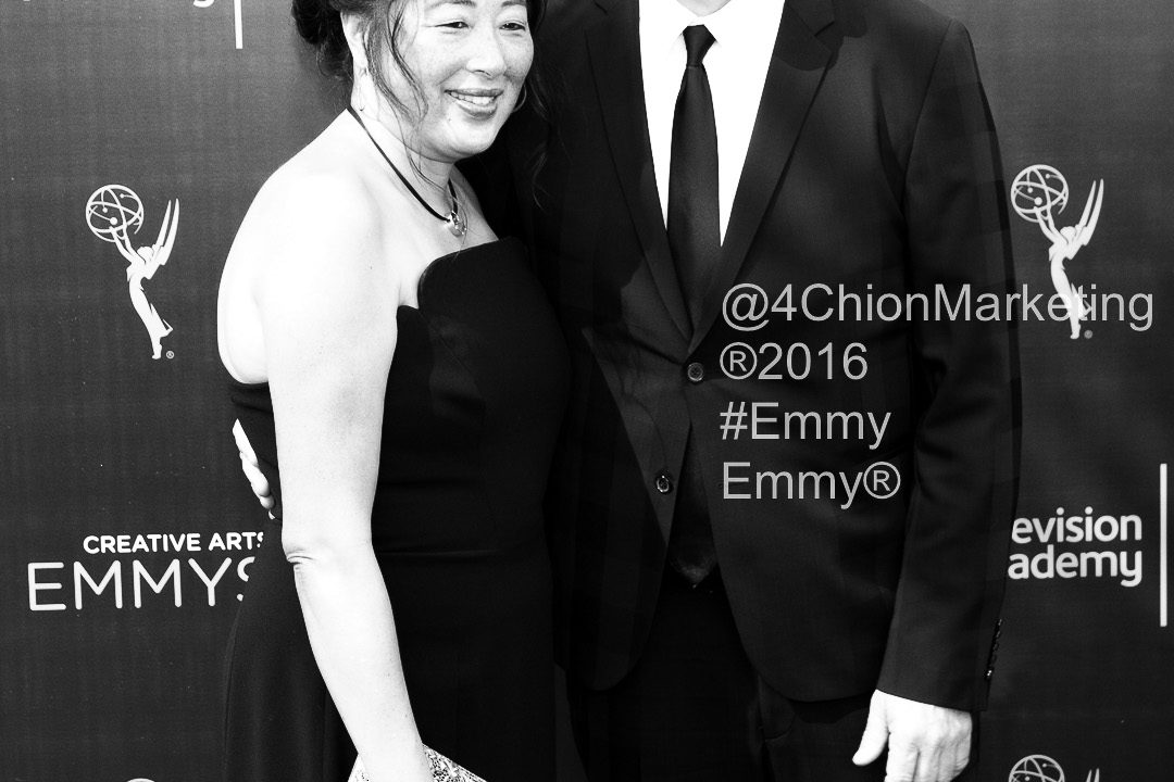 Sean Callery red carpet Emmy® Creative Arts Awards 4Chion LIfestyle