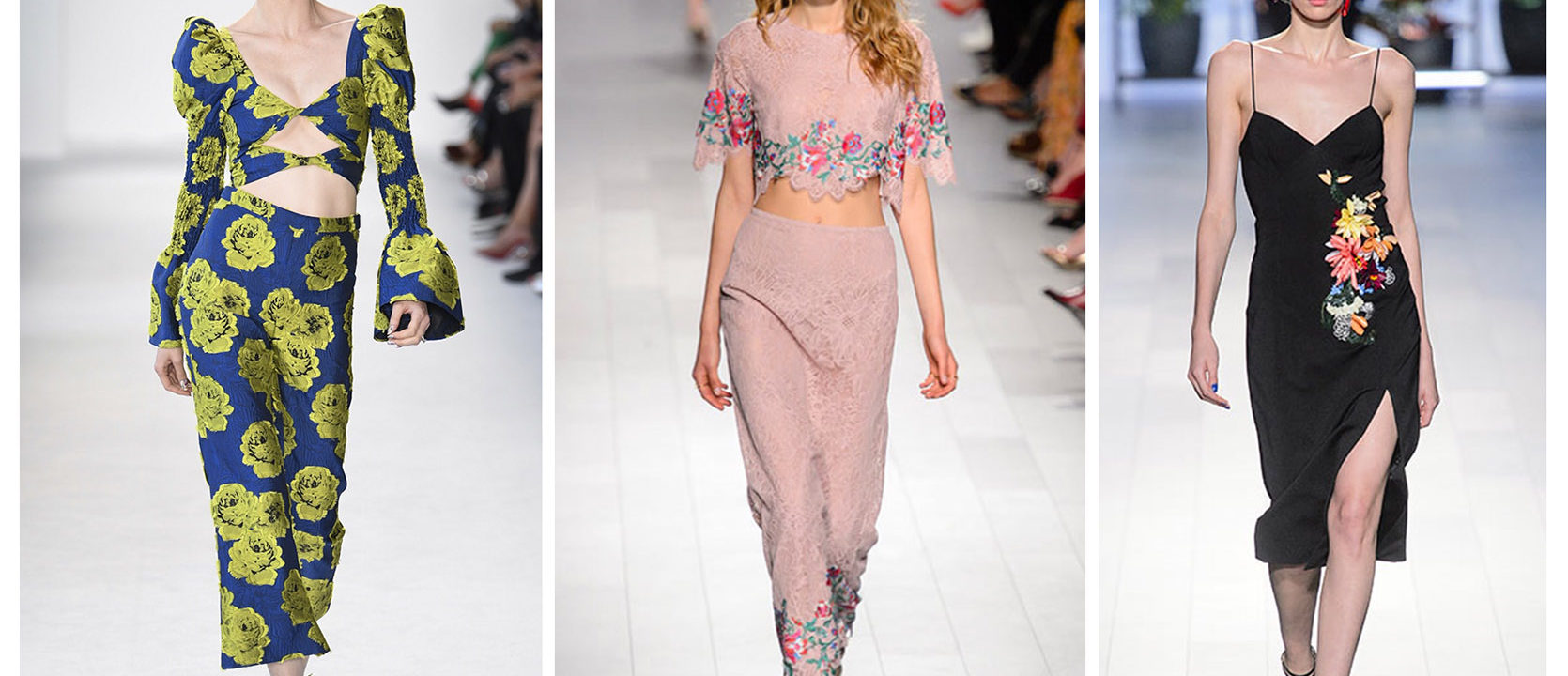NYFW Floral Trends Spring Summer 2018 4Chion Lifestyle