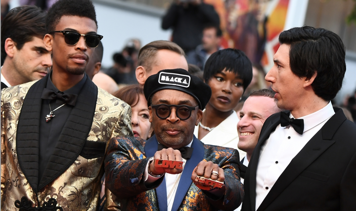 BlacKkKlansman Spike Lee Adam Driver Cannes Red Carpet 4Chion Style